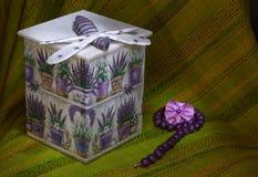 Decoupage box Royalty Free Stock Photography