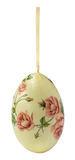 Decoupage decorated eggs Stock Photos