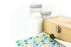 Decoupage Equipment. Set on white background Royalty Free Stock Photography