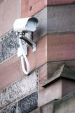 Decoy CCTV. On the wall stock image