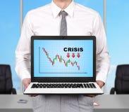 Decreasing chart Stock Image