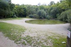 Decreasing ponds Stock Photo