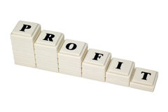 Decreasing Profit Stock Images