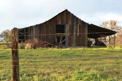 Decrepit Barn Stock Photography