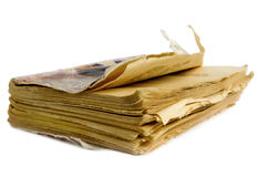 Decrepit book Royalty Free Stock Photos