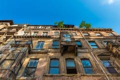 Decrepit Building Stock Image