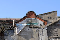 Decrepit building Royalty Free Stock Photography