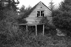 Decrepit house Royalty Free Stock Photo