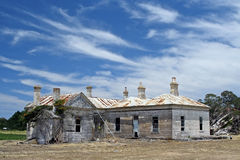 Decrepit old homestead Royalty Free Stock Images