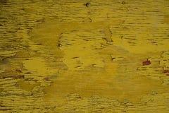 Decrepit yellow Old Wood Background Stock Image