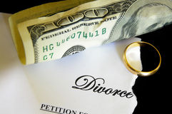 Decreto del divorcio Imagenes de archivo
