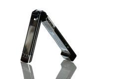 Dect-Telefon auf Weiß Lizenzfreies Stockfoto