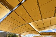 Decumano  tensile roof, EXPO 2015 Milan Royalty Free Stock Image