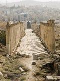 Decumanus, Jerash Royalty Free Stock Photography
