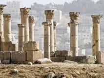 Decumanus, Jerash, Royalty Free Stock Photos