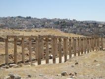 Decumanus, Jerash, Jordan Royalty Free Stock Photos