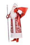Ded Moroz avec le sac Photographie stock libre de droits