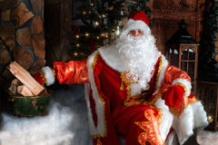 Ded Moroz (Father Frost) royalty free stock image