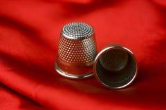 Dedais vermelhos Imagens de Stock Royalty Free