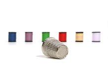 Dedal y cuerda de rosca Imágenes de archivo libres de regalías