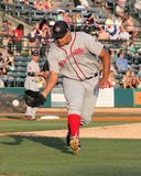 Dedgar Jimenez,  Greenville Drive Royalty Free Stock Images