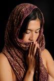 Dedicación religiosa foto de archivo libre de regalías
