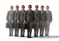Dedicated business team Stock Images