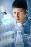 Dedicated scientific worker Royalty Free Stock Image