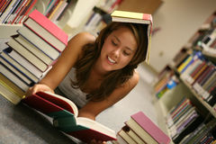 Dedicated Student Stock Photo