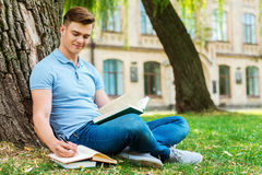 Dedicated to studying. Stock Images