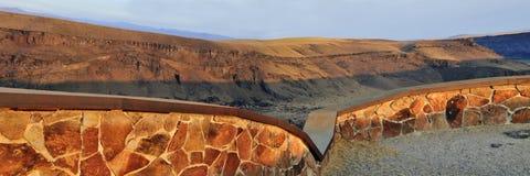 Dedication Point, Snake River Canyon, Idaho Stock Photos