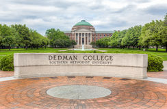 Dedman College of Humanities and Sciences on the Campus of South. DALLAS, TX/USA - MAY 21, 2016: Dedman College of Humanities and Sciences at Southern Methodist Stock Image