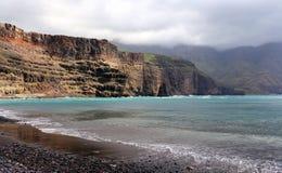 Dedo De Dios, Agaete, Gran Canaria Fotografia Stock