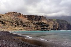 Dedo de Dios, Agaete, Gran Canaria Royalty Free Stock Photo