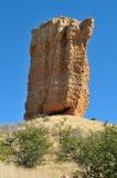 Dedo de la roca cerca de Outjo en Namibia Imagen de archivo libre de regalías