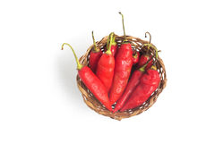 Dedo de Moca Chilly Pepper Stock Images