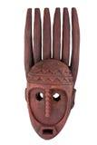 Dedos africanos tribales de la máscara Imagenes de archivo