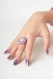 Dedos bonitos Imagens de Stock