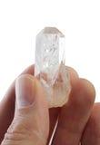 Dedos cristalinos Imágenes de archivo libres de regalías