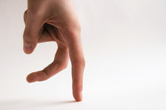 Dedos de passeio Imagens de Stock