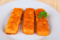 Dedos de peixes Imagem de Stock