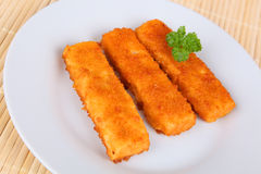 Dedos de peixes Imagens de Stock