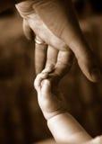Dedos del bebé Fotografía de archivo libre de regalías