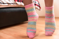 Dedos del pie de la extremidad Foto de archivo libre de regalías
