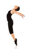 Dedos del pie derechos del bailarín Imagen de archivo