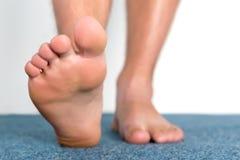 Dedos del pie sanos foto de archivo libre de regalías