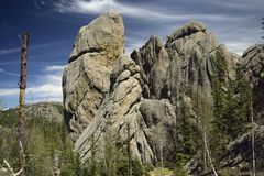 Dedos do granito Imagem de Stock Royalty Free