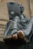 Dedos do pé afortunados foto de stock royalty free