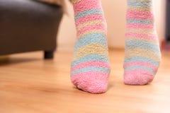 Dedos do pé da ponta Imagens de Stock