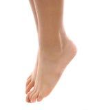 Dedos do pé da ponta Foto de Stock Royalty Free